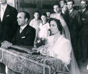 1947, il matrimonio di babbo e mamma